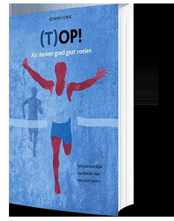 Cover (T)op het boek